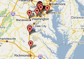 Spot Historical Crime The Beltway Sniper Shootings  SpotCrime